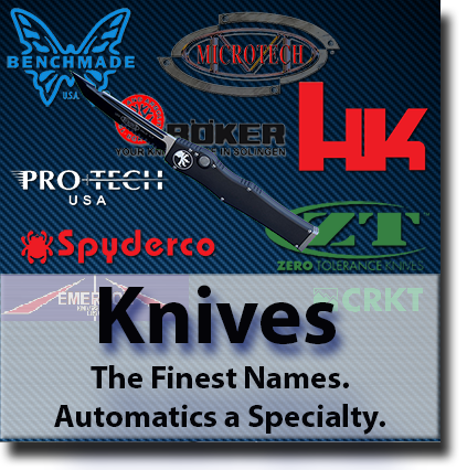 Automatic knives or Switch Blades