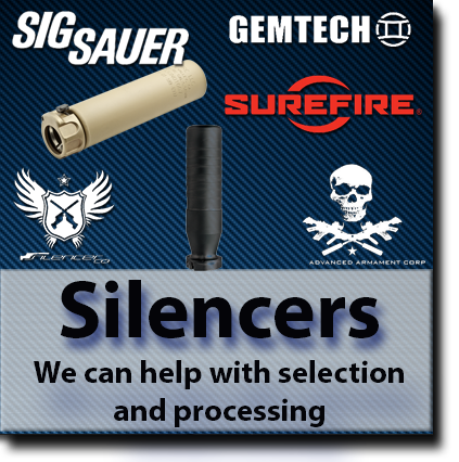 Silencers for sale